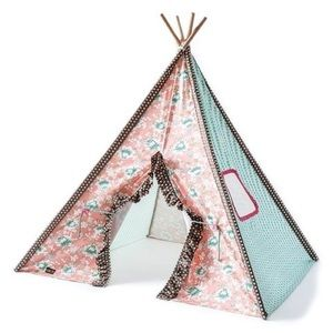 Matilda Jane Pink Floral So Much Fun Tent Teepee